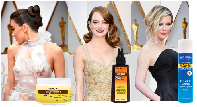 Oscar's Red Carpet Hair in 3 Steps