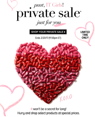 itCosmetics Private Sale