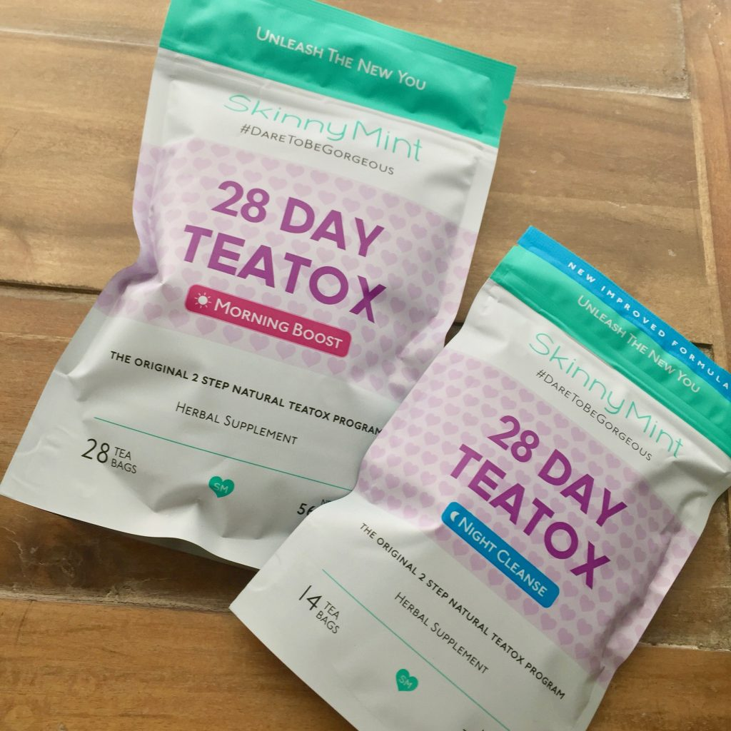 skinny mint 28 day teatox