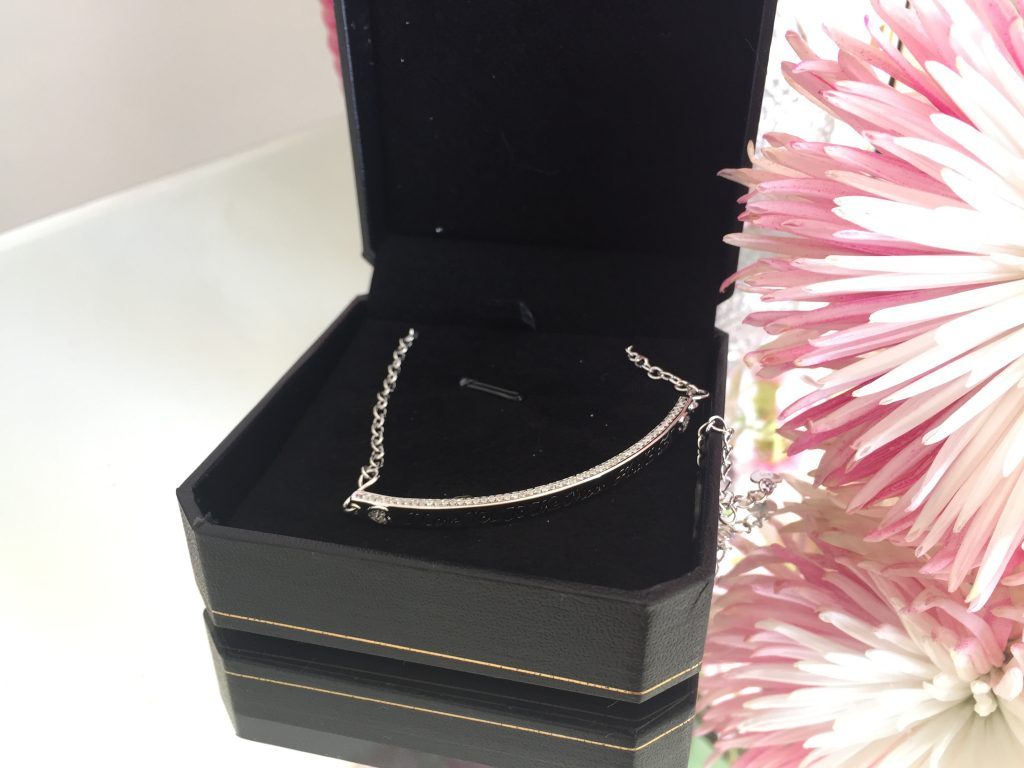 "Win an ""I love you to the moon and back"" 925 silver bracelet"