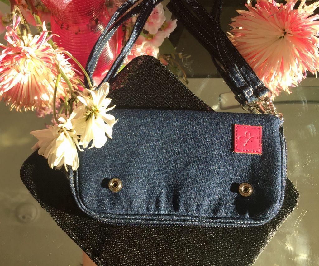 flying buttress interchangeable wallet and clutch handbag