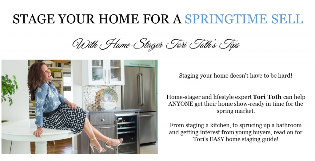 How to Stage Your Home for A Sale This Spring