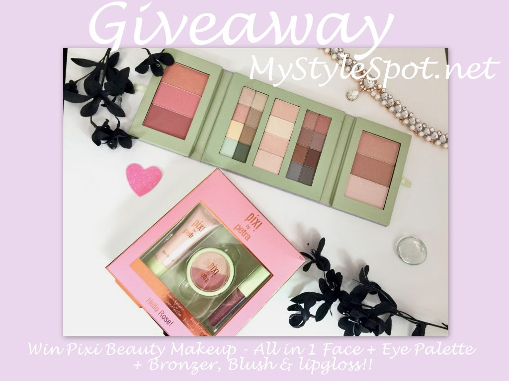 Win a ton of makeup from pixibeauty + 25 other giveaways!