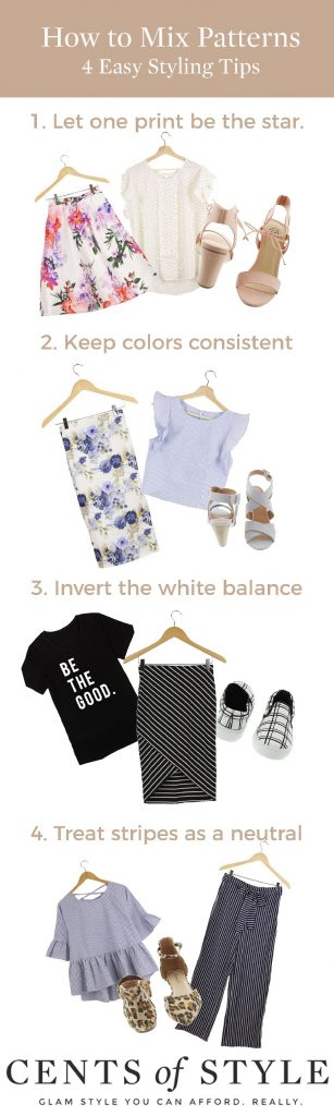 Easy Style Tips for Mixing Prints
