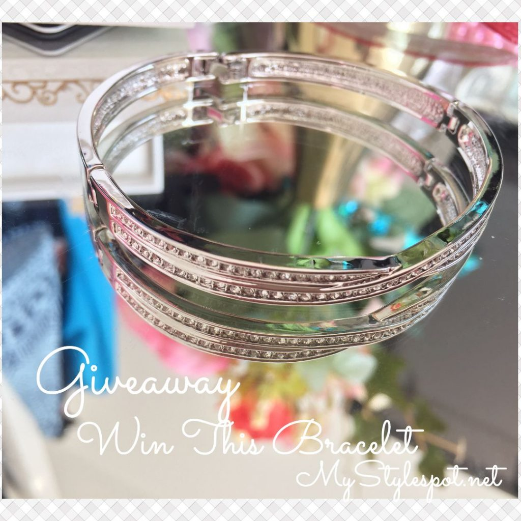 GIVEAWAY: Win a Chic Silver CZ Stone Bracelet, HoneyCat Skincare & 35+ Other Prizes