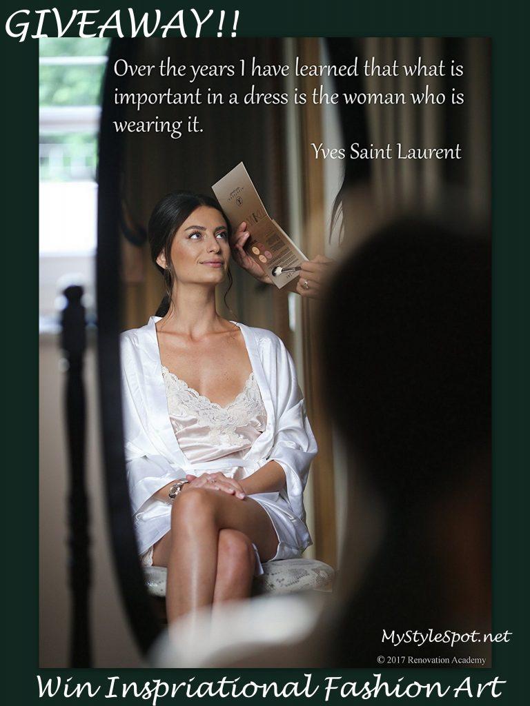 GIVEAWAY: Win Gorgeous Inspirational Fashion Art