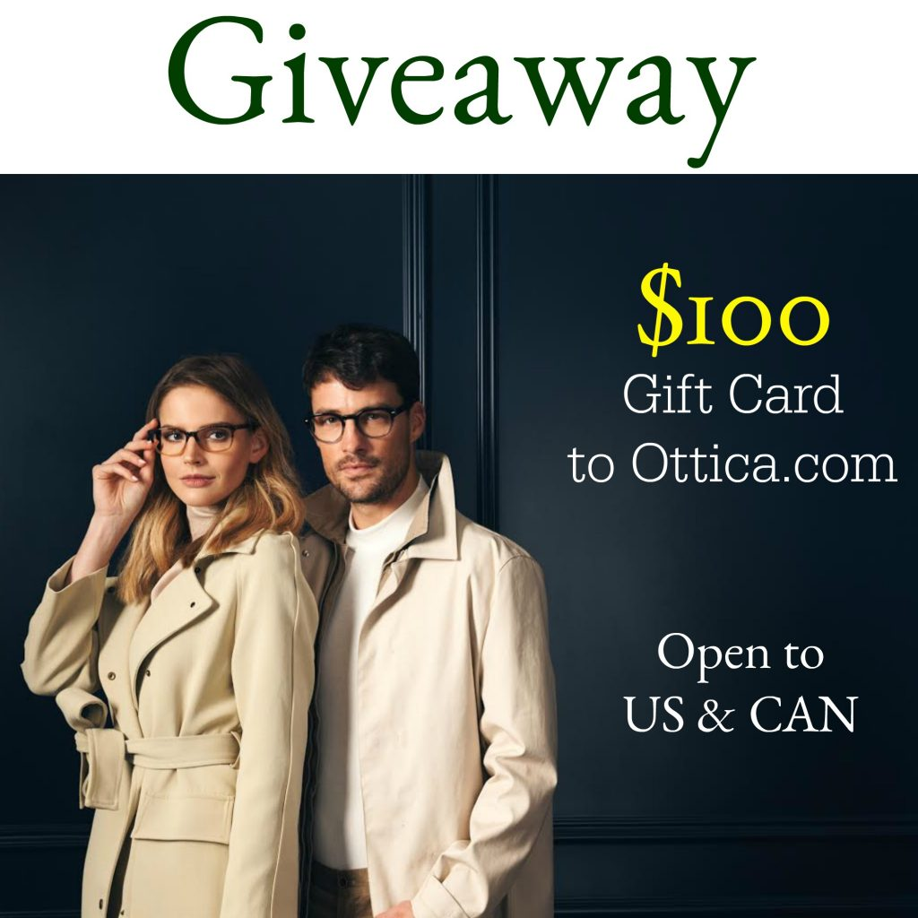 giveaway: Win $100 to spend on designer glasses and sunglasses from Ottica