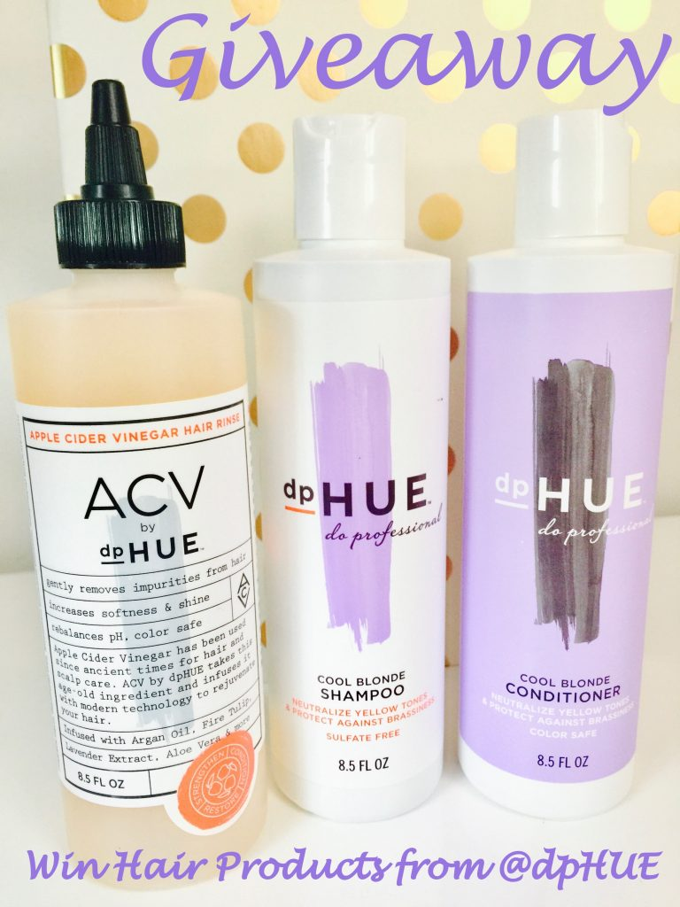 GIVEAWAY: Win Fabulous Hair Products from dpHUE to Maintain Your Hair Color b/t Salon Visits