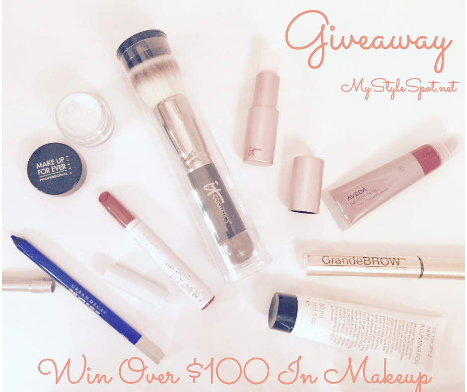 GIVEWAY: Win Over $100 In Makeup + Over 65 Other Prizes