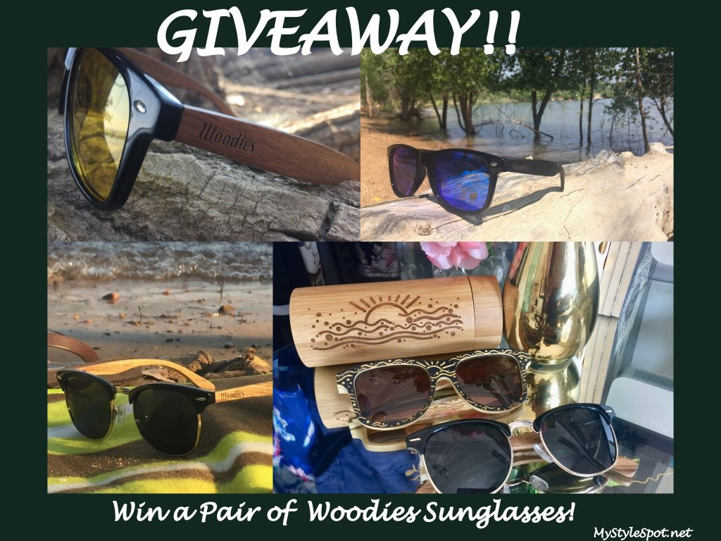 GIVEAWAY: Win Sunglasses of your Choice from Woodies - 5 WINNERS!