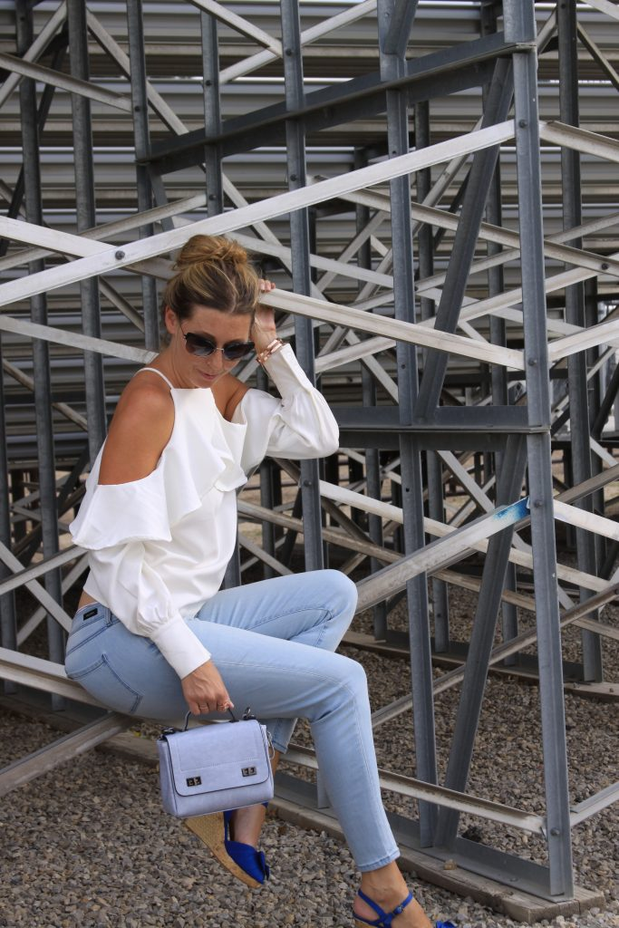 Style Post: Denim & Ruffles for Fall