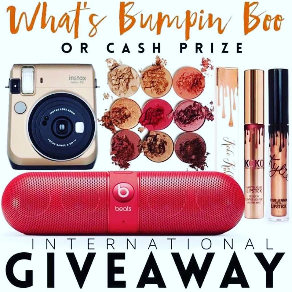 GIVEAWAY: Win a Beats Speaker, Instax Camera, & Makeup by Kylie or a Cash Prize!