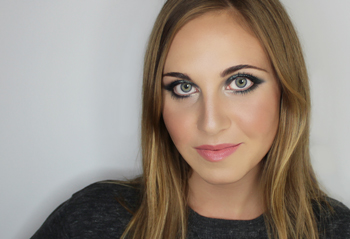holiday makeup look