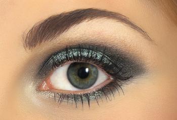 Midnight Glitz Eye Makeup Tutorial