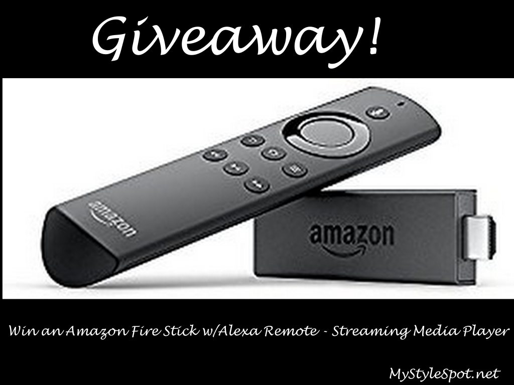 GIVEAWAY: Win an Amazon Fire Stick w/Alexa Voice Remote