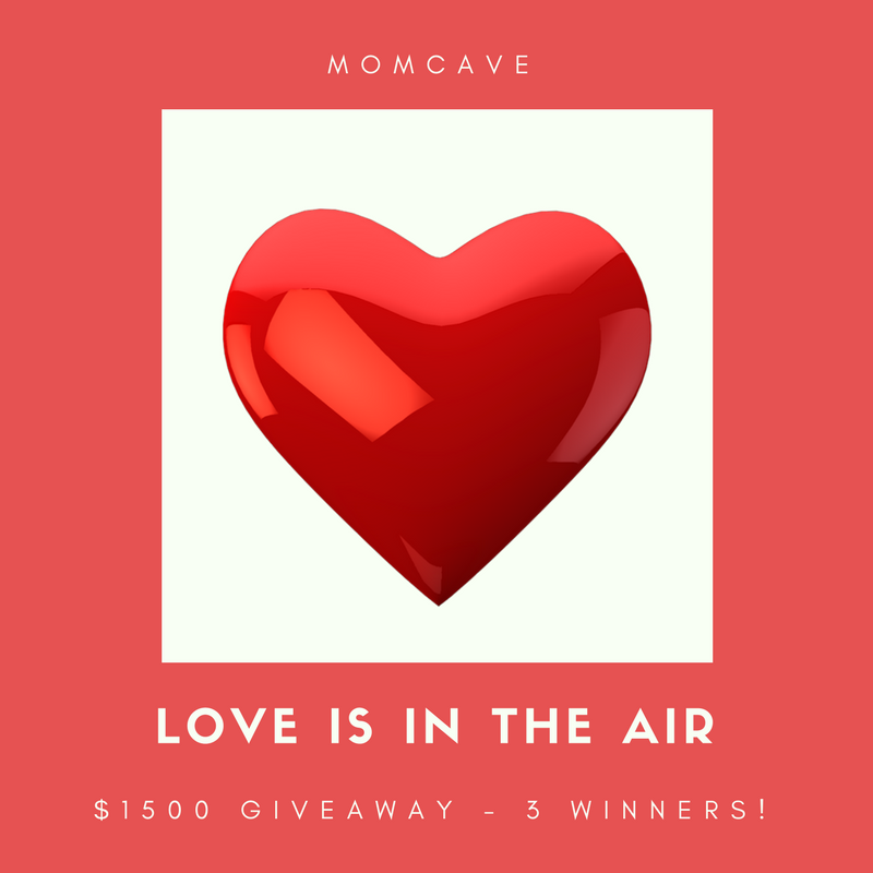 WIN $1500 in the Love is in the Air Giveaway