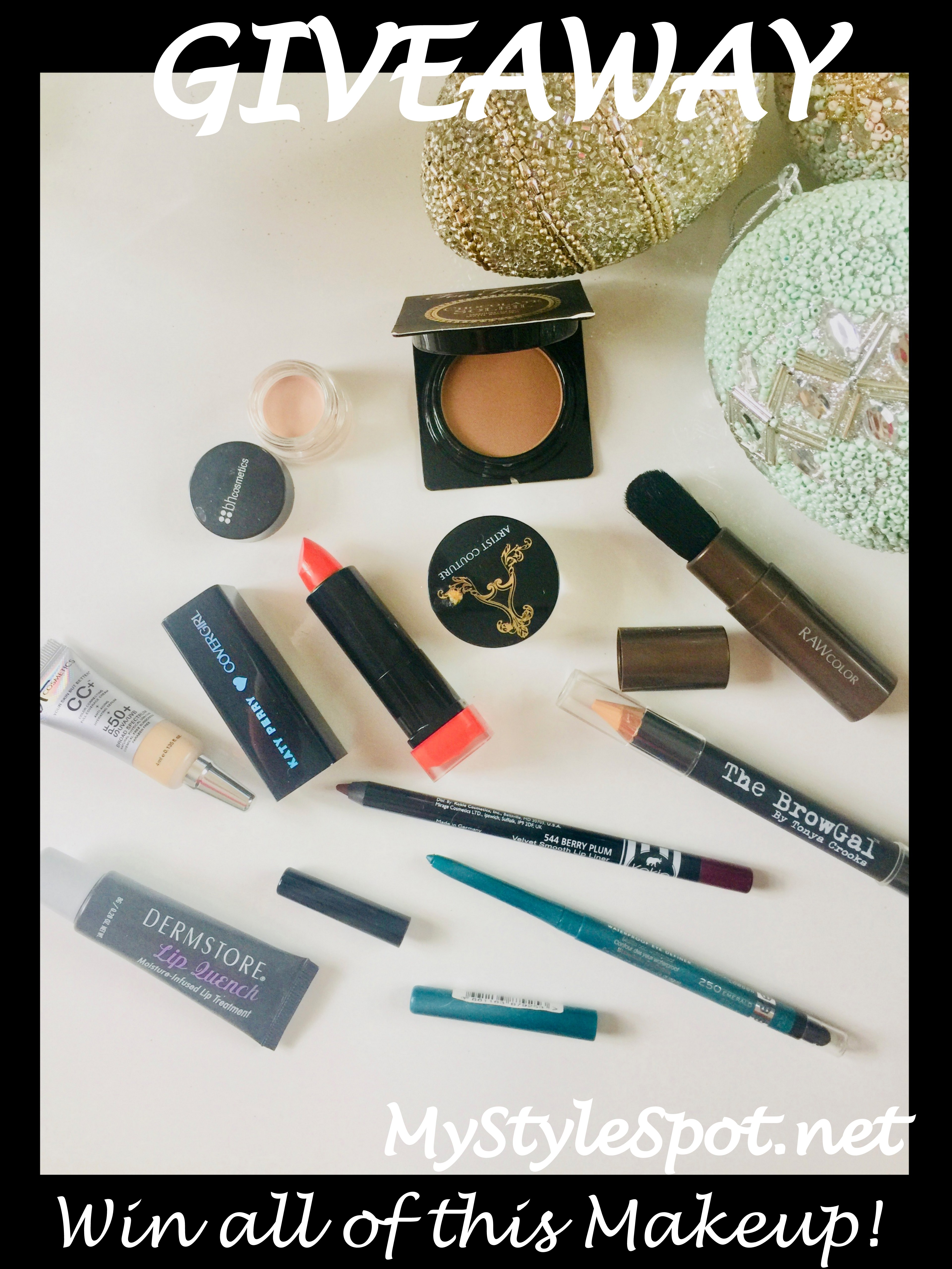 GIVEAWAY: Win a Bunch of Makeup + a TON of Other Giveaways