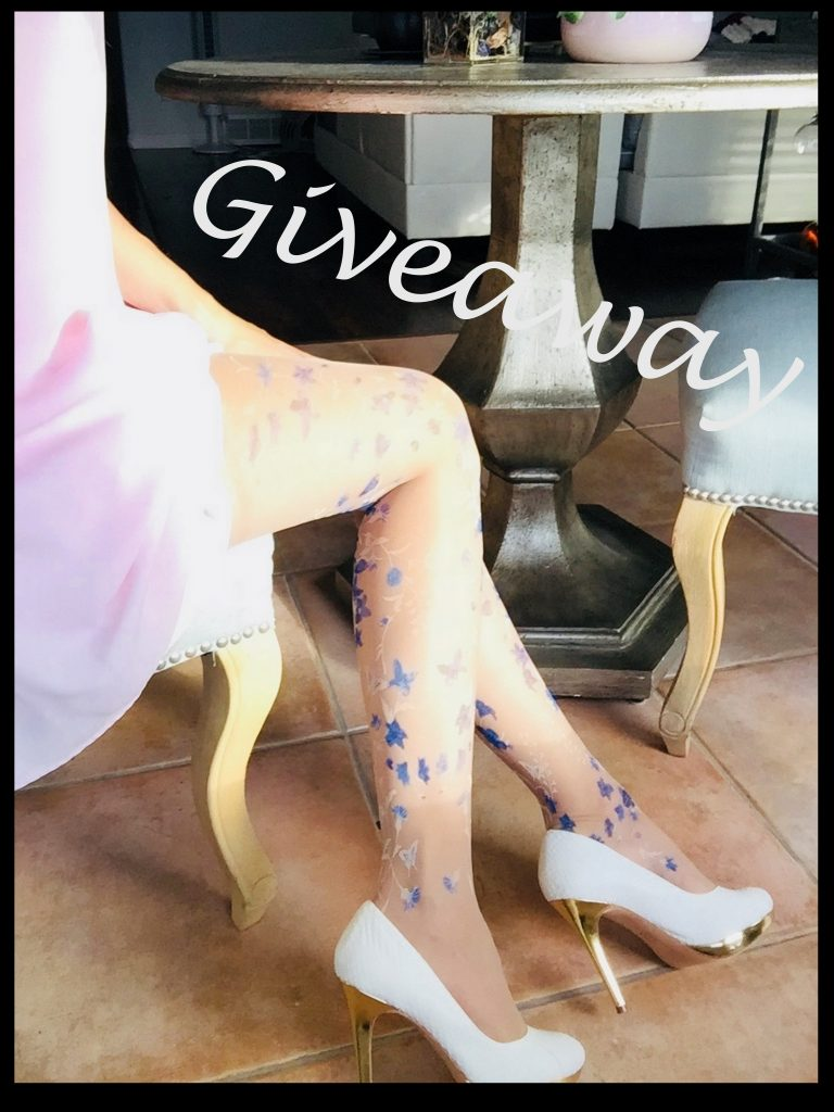 Win a pair of floral tights