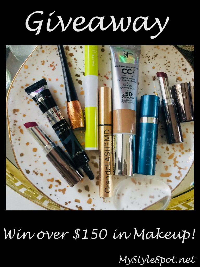 GIVEAWAY: Win a Ton of Makeup (over $150 in Value) + TONS of other Fab Prizes