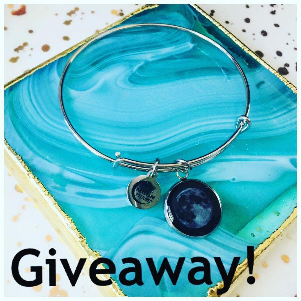 Blue MoonStone and Silver Bracelet