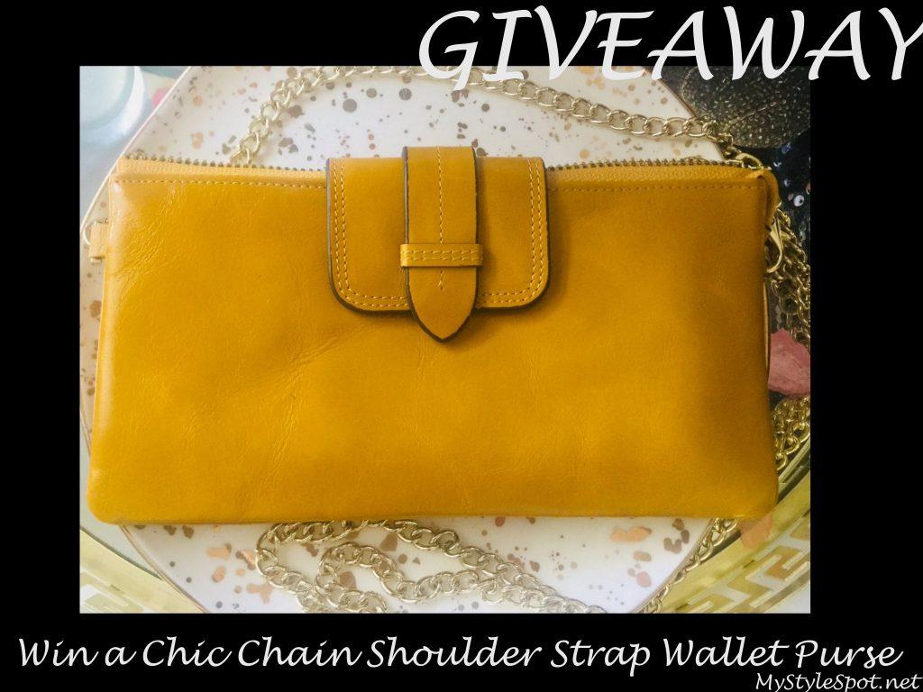 mustard yellow clutch wallet