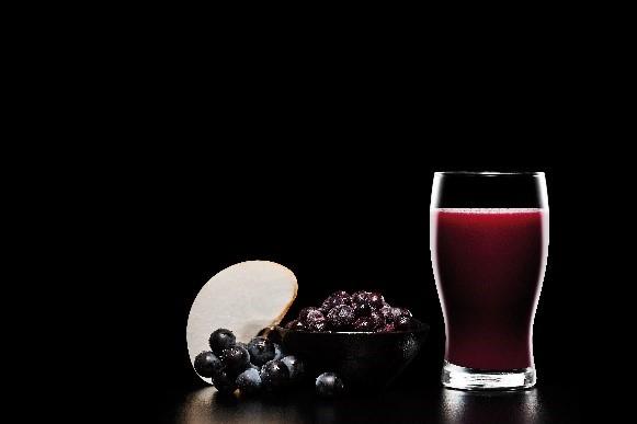 blueberry smothie