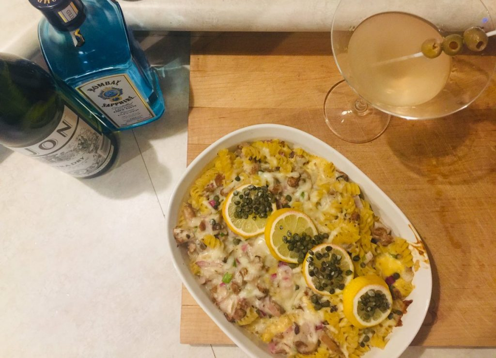 Easy Vegetarian/Vegan Tuna Casserole Recipe