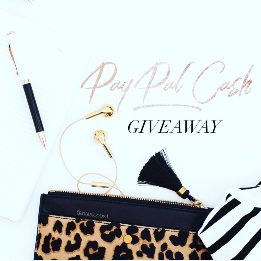 paypal $300 cash giveaway