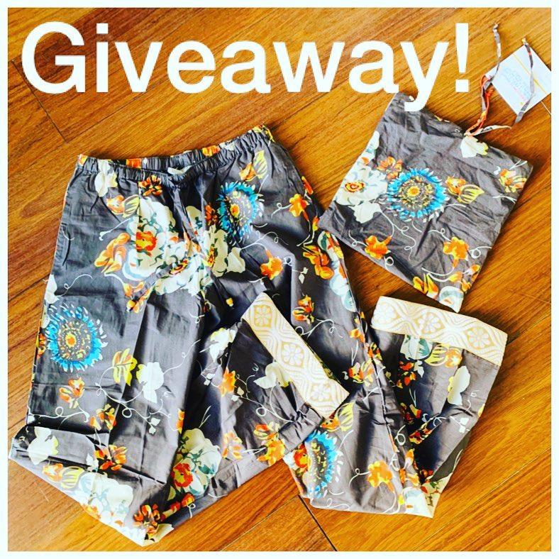 Sudara Pajama Giveaway