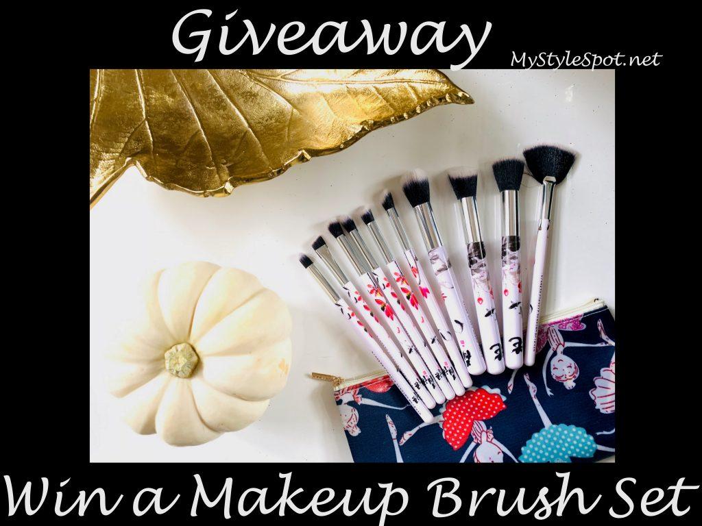 Win a makeup brush set