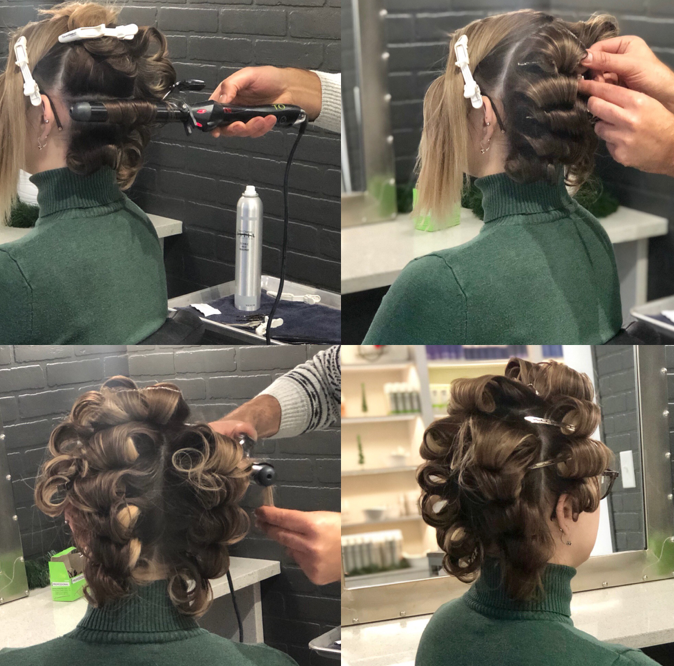 How to Create Old Hollywood Waves by Tony Odisho