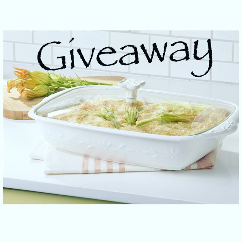 Baking Dish Giveaway