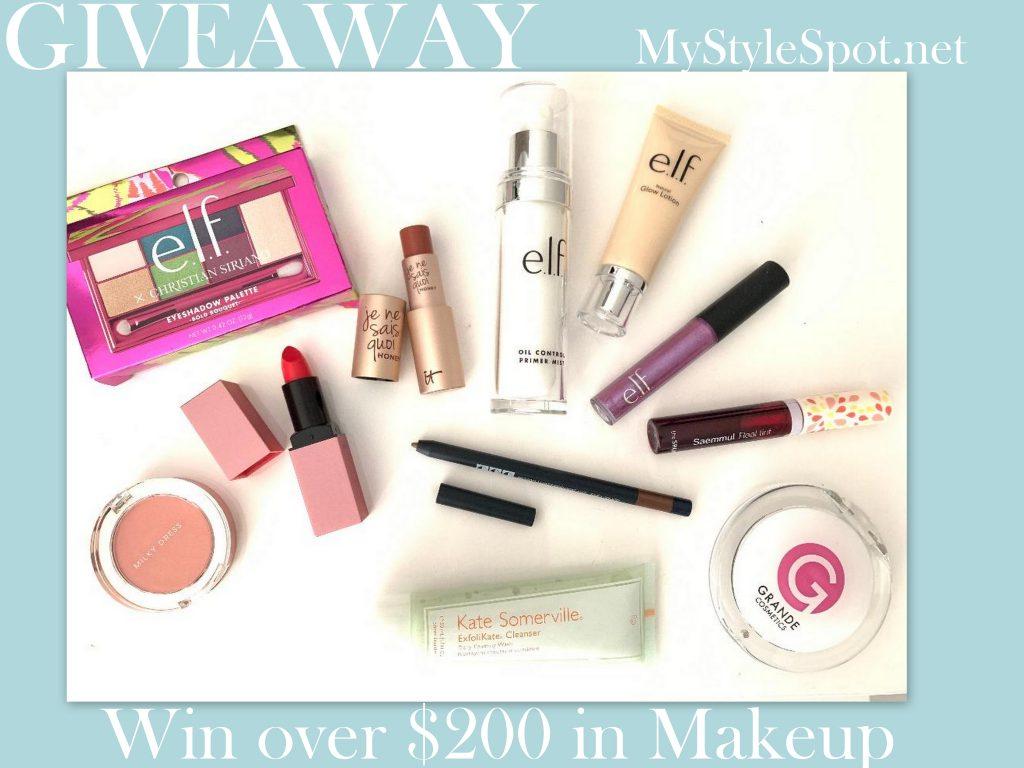 Win over $200 in makeup