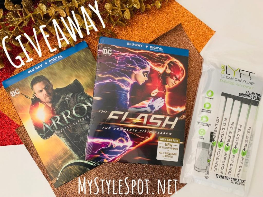 GIVEAWAY: Win the Latest Seasons of Flash & Arrow + Caffeine to Binge Watch