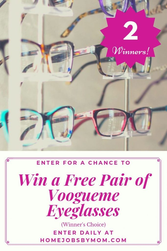 GIVEAWAY: Win VogueMe Glasses - 2 WINNERS