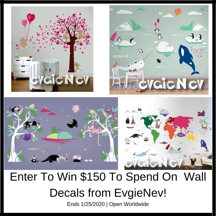 Enter to win $150 in wall decals