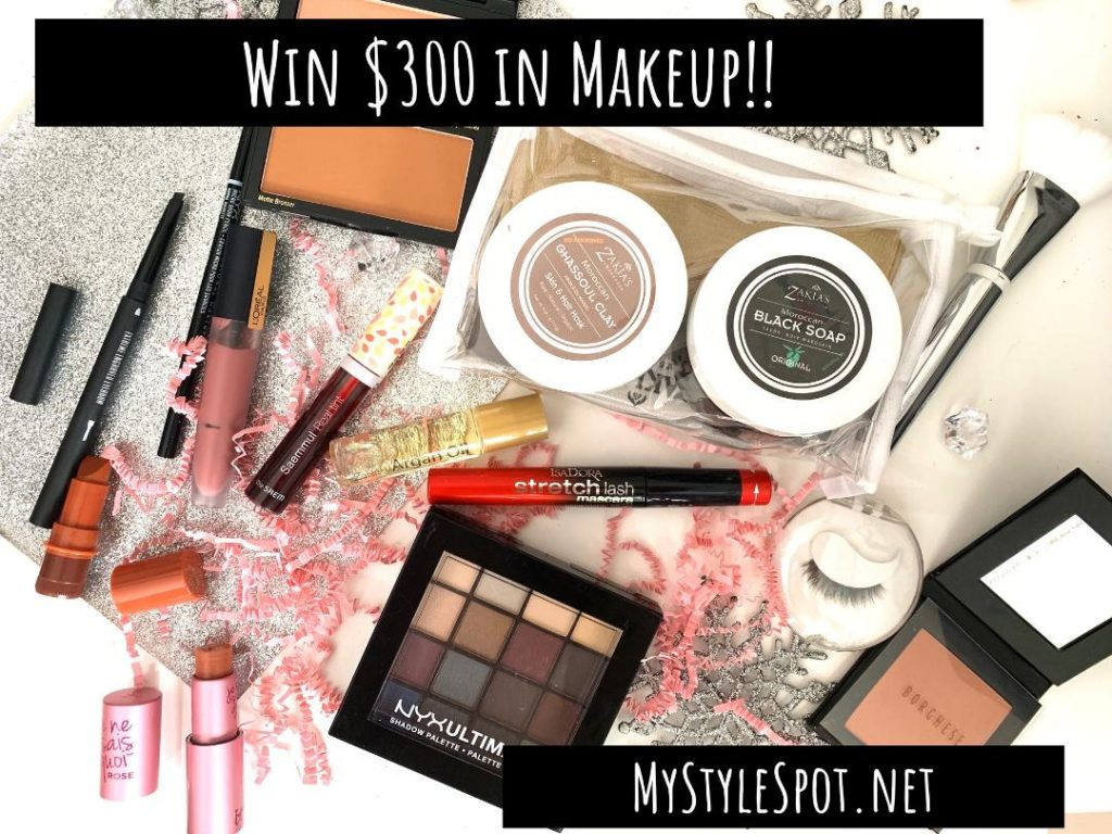 Enter to win $300 in makeup