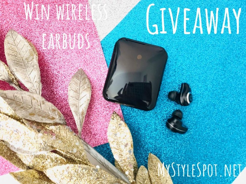 Enter to win wireless bluetooth earbuds