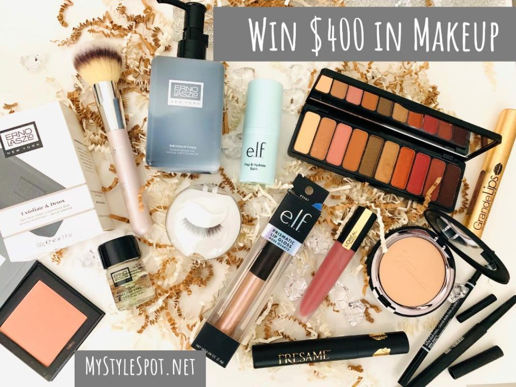 GIVEAWAY: Win $400 in Skincare & Makeup