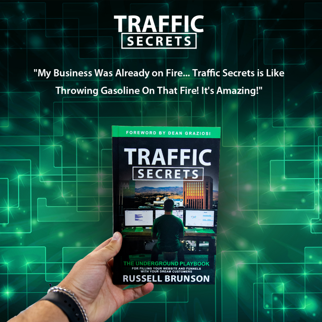Traffic Secrets Book Review by Russell Brunson