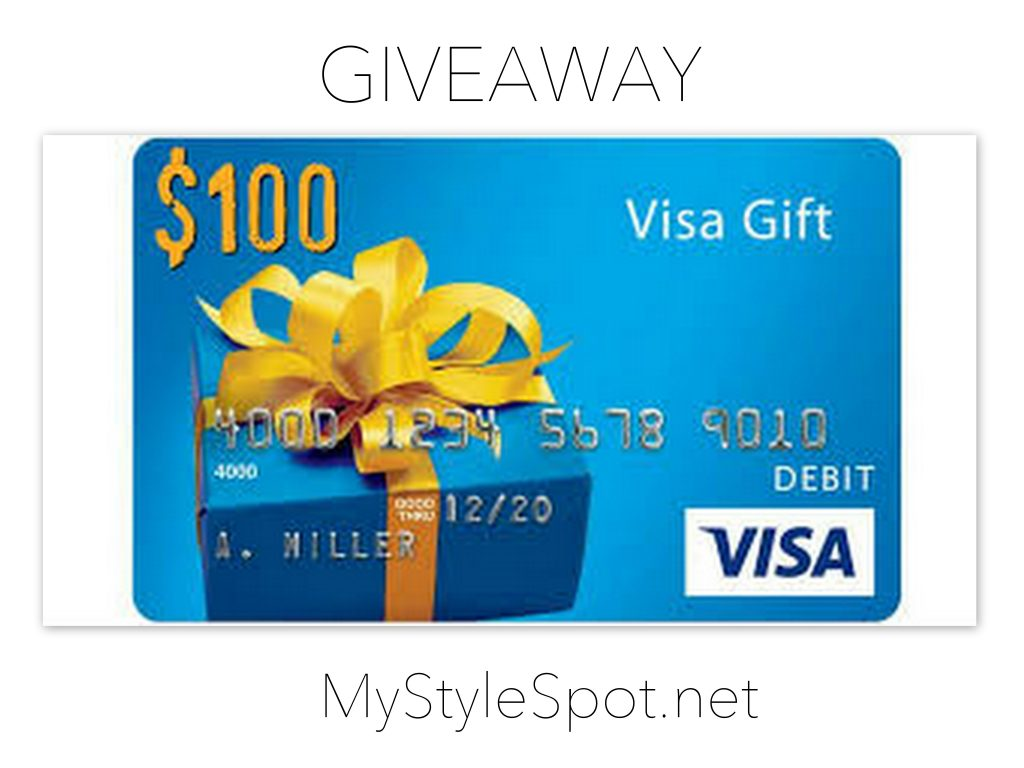 Enter to Win a $100 Visa Gift Card and a $100 macys gift card - 5 winners