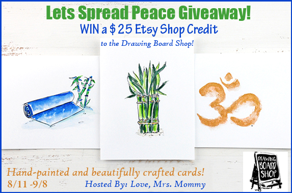 Enter to win a $25 Etsy Credit