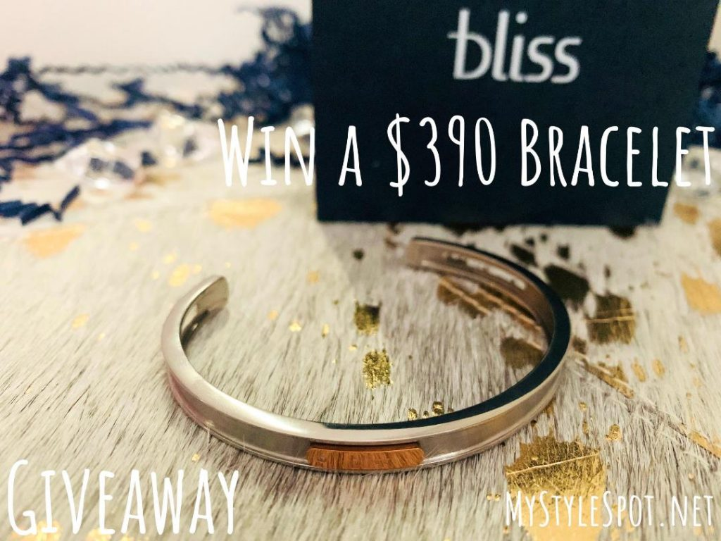 Enter to win a $390 tytanium and rose gold bracelet