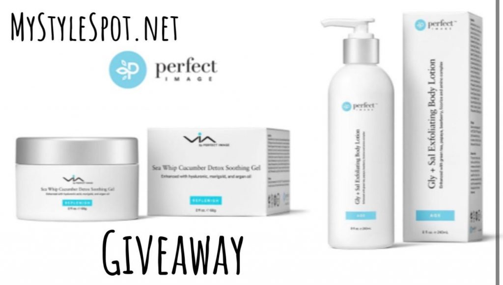 Enter to Win skincare set from perfect image