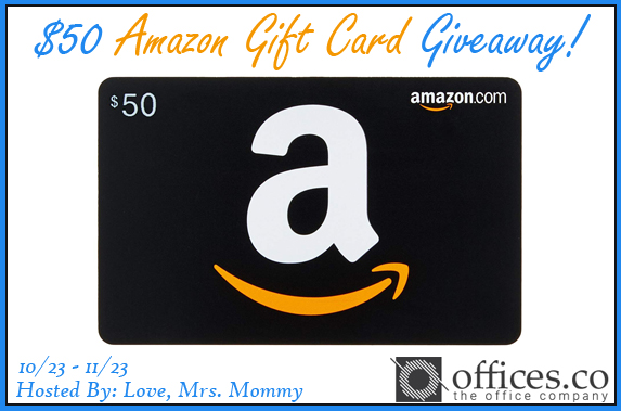 ENTER TO WIN a $50 Amazon Gift Card- OPEN WORLDWIDE!