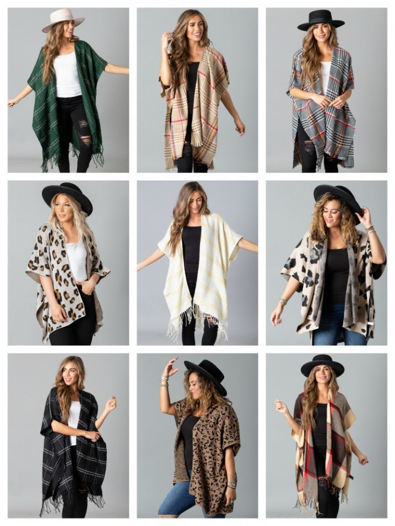 Chic Fall Kimonos 50% Off Lowest Marked Price
