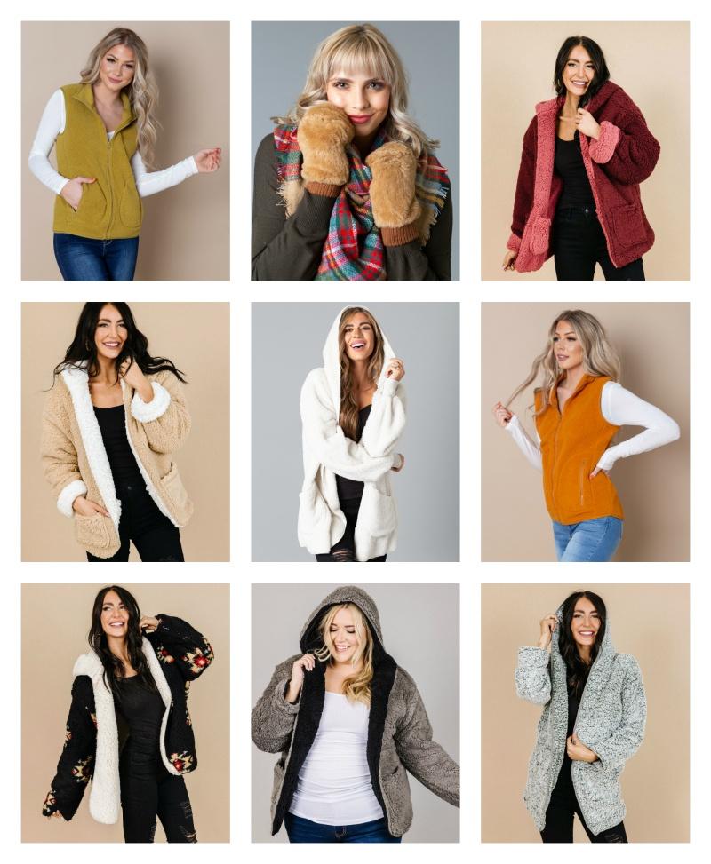 40% OFF Sherpa & Faux Fur Fashion Finds