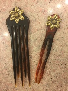 Good Hair Days hair clips for chignons and french twists