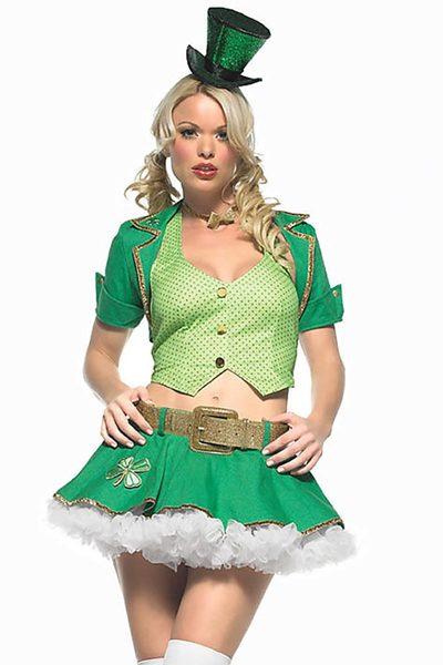 lucky charm st patricks day ladies costume