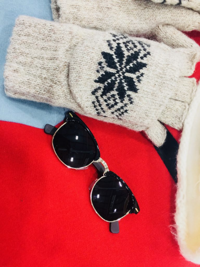 Why You Need to Wear Sunglasses , Even in the Winter: Woodies